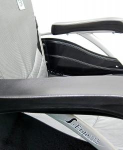 S-Ergo 115 Concaved Armrests